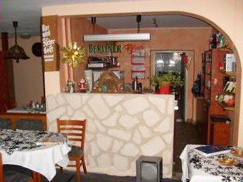 Gasthaus am Dorfanger – Ihr Gasthaus in Henningsdorf - Tresen im großen Speisesaal